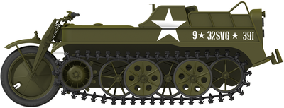 Kleines Kettenkraftrad Sd.Kfz.2 - 4