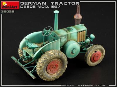 GERMAN TRACTOR D8506 MOD. 1937 - 4