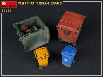 PLASTIC TRASH CANS - 4