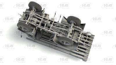 BM-13-16 on W.O.T. 8 chassis, WWII Soviet MLRS - 4
