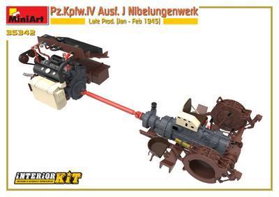 Pz.Kpfw.IV Ausf. J Nibelungenwerk Late Prod. (Jan – Feb 1945) INTERIOR KIT - 4