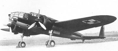 PZL. 37 A bis I Polish medium Bomber - 4