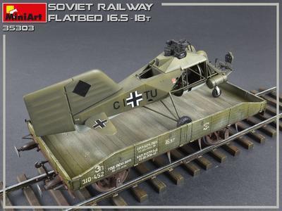 Soviet Railway Flatbed 16,5-18 t - 4