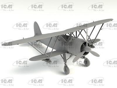 Fiat CR 42AS Falco Iatlian WWII Fighter -Bomber - 4