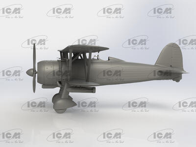 Fiat CR 42AS Falco Iatlian WWII Fighter -Bomber - 4
