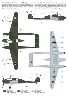 Focke Wulf Fw 189B-0/B-1 'Luftwaffe Trainer'  - 4