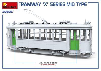"TRAMWAY ""X"" SERIES MID TYPE - 4"