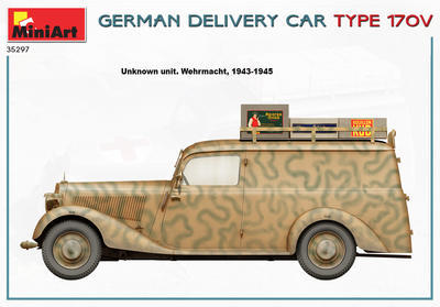 GERMAN DELIVERY CAR TYPE 170V - 4
