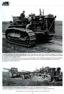 Tyagatshi Soviet Artillery Tracktor in Red army and Wehrmacht service in WWII - 4