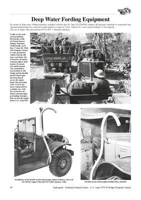 U.S. WWII Dodge 3/4-Ton 4x4 WC-51 & WC-52 Weapoons Carrier - 4