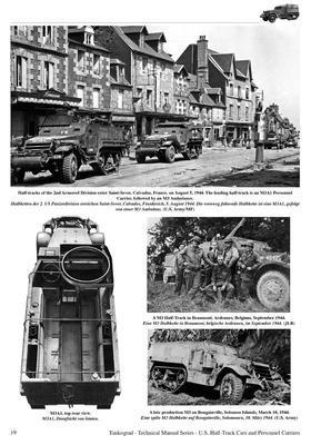 TM U.S. WWII Half-Track M2, M2A1, M9A1,.... - 4