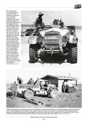British Military Truck in Wehrmacht Service - 4