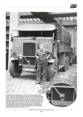 British Military Truck in Wehrmacht Service - 4