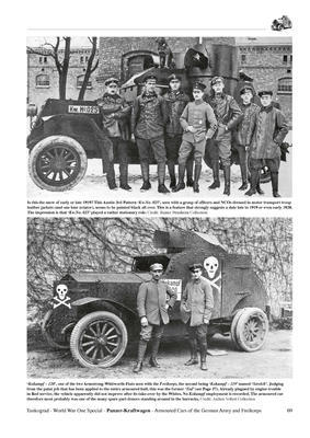 WWI Panzer-Kraftwagen Armour Cars of the German Army and Freikorps - 4