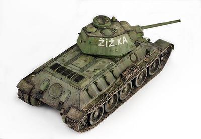 Tank T-34  - Marian Bunc, česky - 4