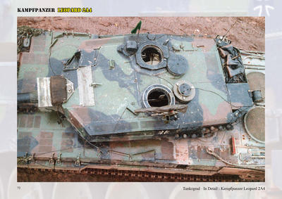 Cold war hero - Kalter Krieger Leopard 2A4 in detail - 4