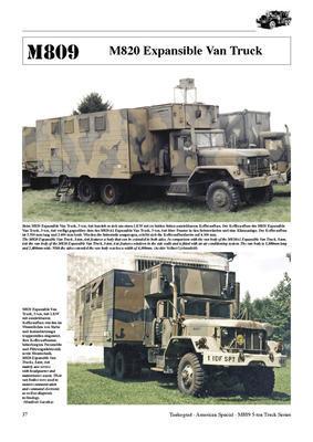 M809 5-ton 6x6 Truck Series - 4