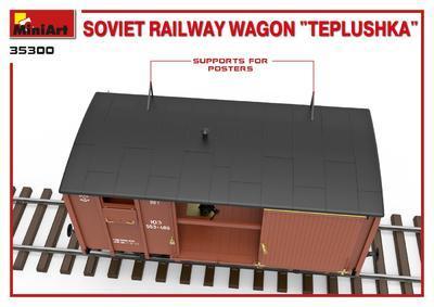 "Soviet Railway Wagon ""Teplushka""  - 4"