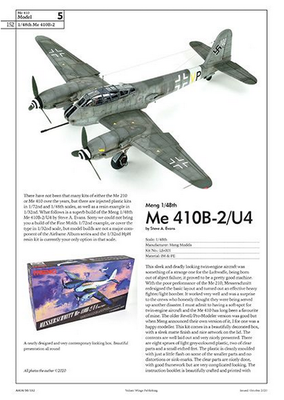 The Me 410 Hornisse A Detailed Guide To The Last Zerstörer - 4
