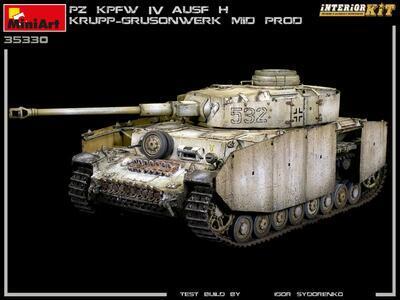 Pz.Kpfw.IV Ausf. H KRUPP-GRUSONWERK. MID PROD. AUG-SEP 1943. INTERIOR KIT - 4