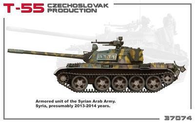 T-55 Czechoslovak Production  - 4