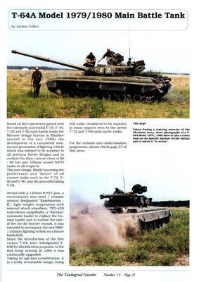 T-64A Model 1979/80 Main Battle Tank - The Tankograd Gazette 14 - 4