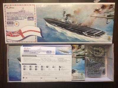 HMS Hermes 1942 - 4