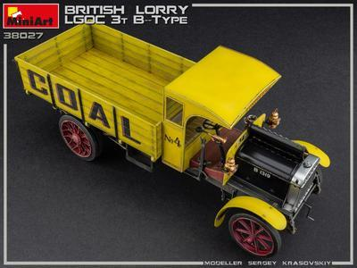 British Lorry 3T LGOC B-Type - 4