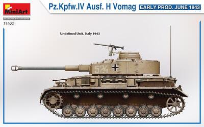 Pz.Kpfw.IV Ausf. H Vomag. EARLY PROD. JUNE 1943 - 4