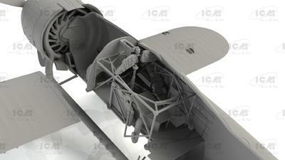 Fiat CR. 42 LW Falco, WWII German Luftwaffe Ground Attack Aircraft - 4