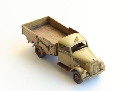 Type 2,5-32 Wehrmacht, Light Truck 1,5t Africa with cargo  - 4