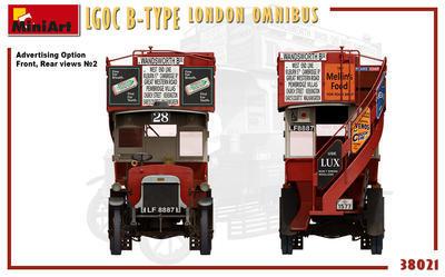 LGOC B-Type London Omnibus - 4