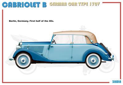 Cabriolet B Type 170V German Car  - 4