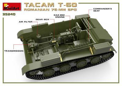 Tacam T-60 Romanian 76mm SPG - 4