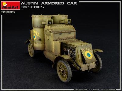 AUSTIN ARMORED CAR 3rd SERIES: UKRAINIAN, POLISH, GEORGIAN, ROMANIAN SERVICE. INTERIOR KIT - 4