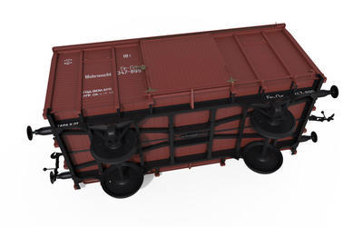 "Railway Covered Goods Wagon 18t "" NTV"" Type - 5"