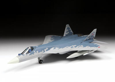 Russian Fift-Generation Fighter SU-57 - 5