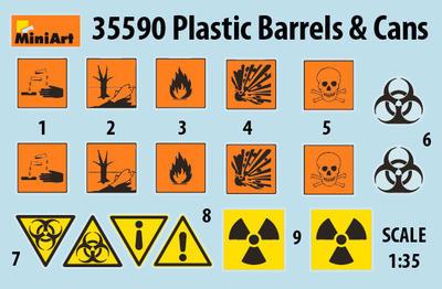 Plastic Barrels & Cans - 5