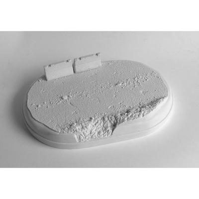 asfaltka - ovál (natur) + 1x zábrama - 5