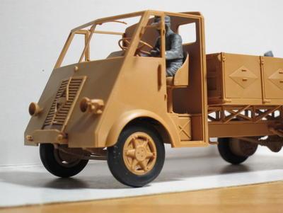 Lastkarftwagen 3,5 t.  AHN with German - 5