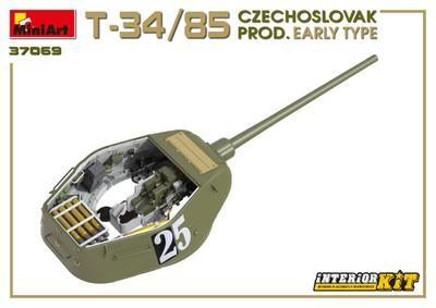 T-34/85 Czechoslovak Production Early Type - 5