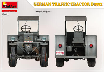 GERMAN TRAFFIC TRACTOR D8532 - 5