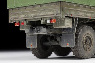 "Russian Three Axle Truck K-5350 ""Mustang"" - 5"