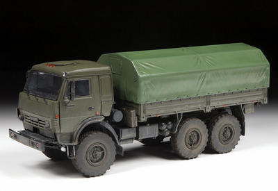 "Russian Three Axle Truck K-5350 ""Mustang"" - 5"