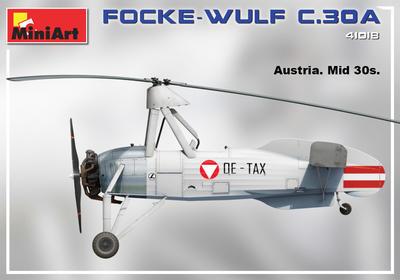 FOCKE-WULF FW C.30A HEUSCHRECKE. LATE PROD - 5