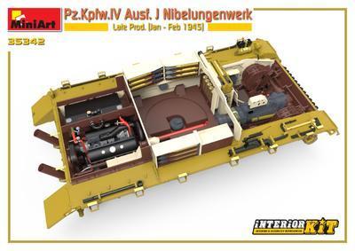 Pz.Kpfw.IV Ausf. J Nibelungenwerk Late Prod. (Jan – Feb 1945) INTERIOR KIT - 5