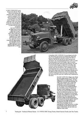 TM U.S. WWII GMC CCKW 2 1/2 ton 6x6 Dump Truck,..... - 5
