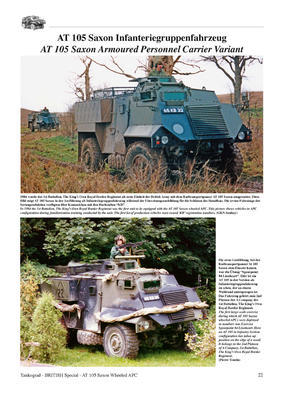 AT 105 SAXON Wheeled Armoured Personnel Carrier  - 5