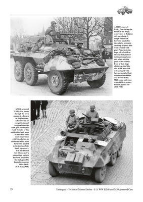 TM U.S. WWII M8 Light Armour Car M20 Armoured Utility Car - 5