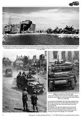 TM U.S. WWII Half-Track M2, M2A1, M9A1,.... - 5